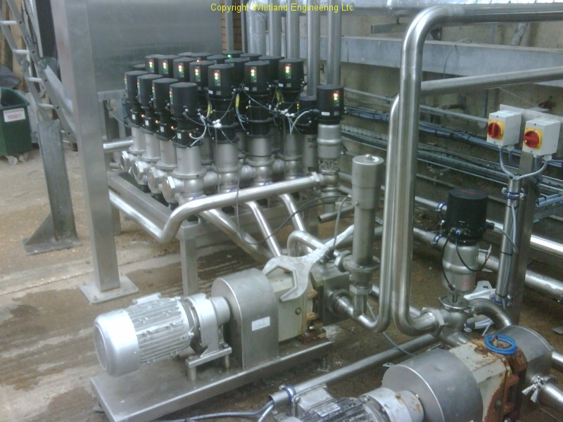Process Systems Cip Amp Pipework Services Whitland