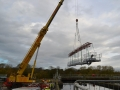 Specialist lifting using lattice beam - fabrication and installation