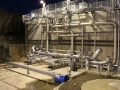 Aeration tank complete fabrication and installation