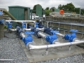 Pump set and valve assembly fabrication and installation
