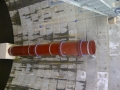900mm storm tank inlet pipework - fabrication & install