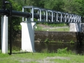 Pipe support bridge - fabrication and installation