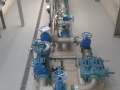 Raw water works inlet pipework installation