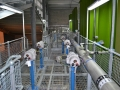 Clean water process plant installation
